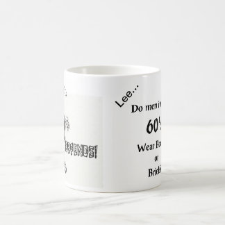彼の60年代の人のためのおもしろいな左利きのマグ コーヒーマグカップ
