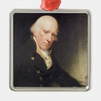 彼のDesのワーレンHastings (1732-1818年)のポートレート メタルオーナメント
