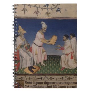 彼のgを与えている氏Fr 2810 f.3v Kublai Khan (1214-94年) ノートブック