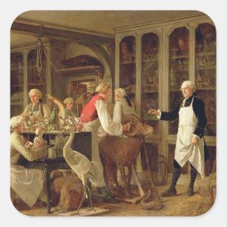 彼のLaboraのルイジーンMarie Daubenton (1716-99年) スクエアシール