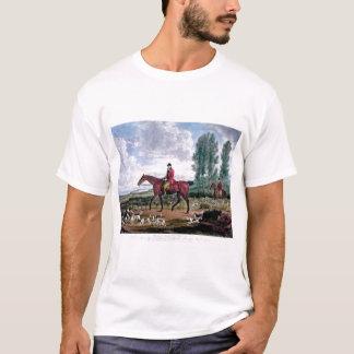 彼のmajestysのハリアーへの猟師 tシャツ