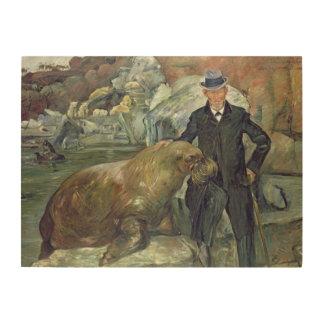 彼のZooのカールHagenbeck、1911年 ウッドウォールアート