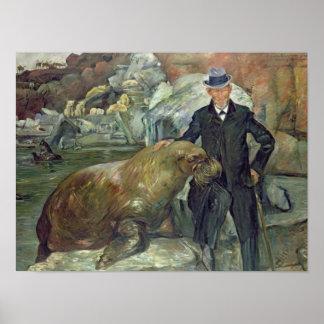 彼のZooのカールHagenbeck、1911年 ポスター