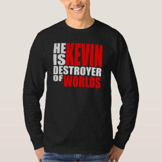 彼はケビンです Tシャツ