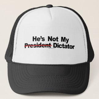彼は私の独裁者の帽子ではないです キャップ