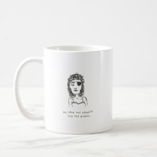 彼はeyepatchのマグにもかかわらず彼女を好みました コーヒーマグカップ