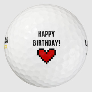 彼または彼女のためのハッピーバースデーのゴルフ・ボールのギフトのアイディア ゴルフボール