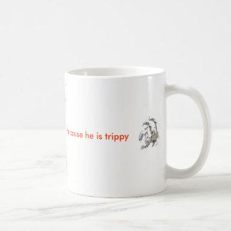 彼よりよい日を彼によってがトリップ(幻覚体験)のようななマグである原因過して下さい コーヒーマグカップ