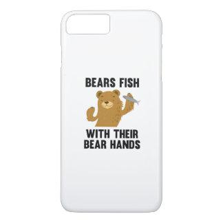 彼らのくま手を搭載するくまの魚 iPhone 8 PLUS/7 PLUSケース