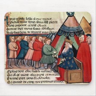 彼らの忠誠を誓約している騎士 マウスパッド