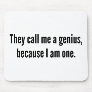 彼らは私が1才であるので、私を天才と電話します マウスパッド