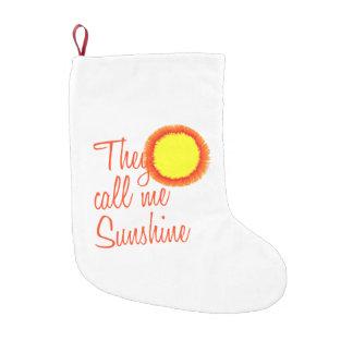 彼らは私を日光と電話します スモールクリスマスストッキング