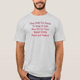 彼らは私達のHandsToを保ちます私達を金庫、今それですOu…握りました Tシャツ