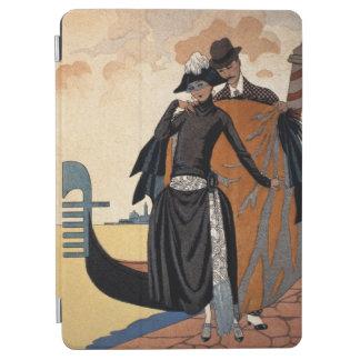 彼女および彼のファッションIllustration 1921年(pochoir p iPad Air カバー