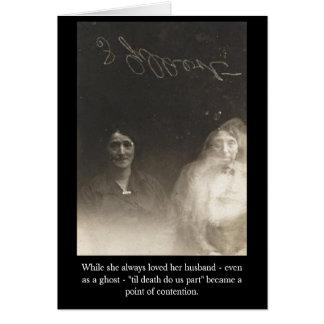 彼女が彼女の夫-イブ--を…常に愛する間、 カード