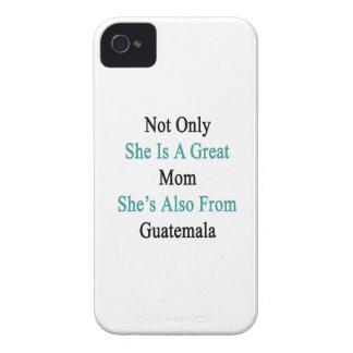 彼女だけ彼女によってがGuatemからまたあるすばらしいお母さんです Case-Mate iPhone 4 ケース