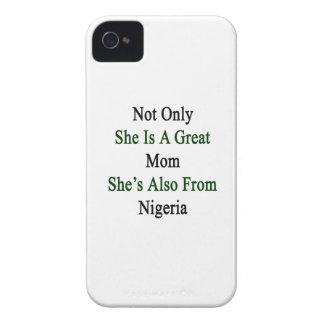 彼女だけ彼女によってがNigeriからまたあるすばらしいお母さんです Case-Mate iPhone 4 ケース