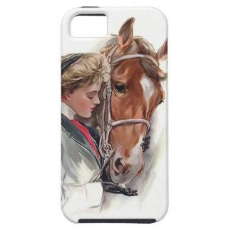 彼女のお気に入りのな馬 iPhone SE/5/5s ケース