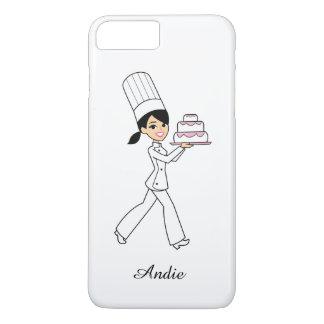 彼女のためのかわいいレトロの漫画のかわいいの場合 iPhone 8 PLUS/7 PLUSケース