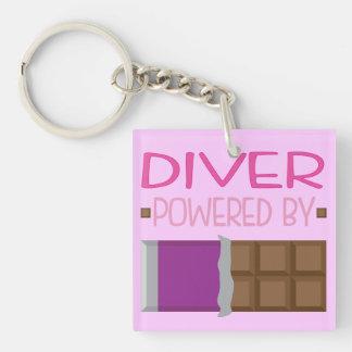 彼女のためのダイバーチョコレートギフト キーホルダー