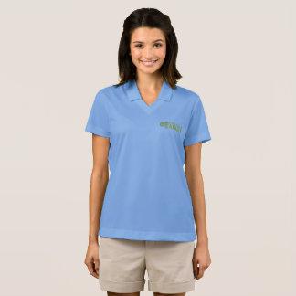 彼女のためのノーフォークAggie Dri適合のポロ ポロシャツ