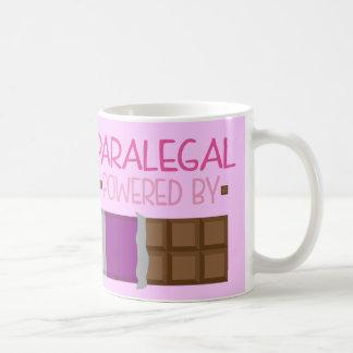 彼女のためのパラリーガルチョコレートギフト コーヒーマグカップ