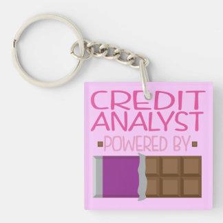 彼女のための信用分析家チョコレートギフト キーホルダー