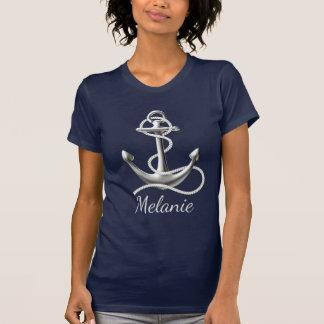彼女のための名前入りないかりのTシャツ Tシャツ
