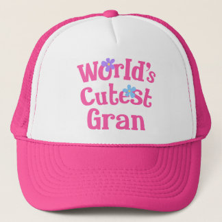 彼女のためのGranのギフトのアイディア(最もかわいい世界) キャップ