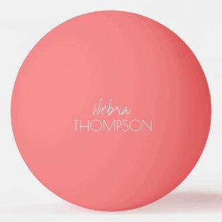 彼女のためピンクのテーブルテニスボール 卓球 ボール