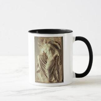彼女のサンダル、c.420-420を紀元前に調節するアテーナーのナイキ マグカップ