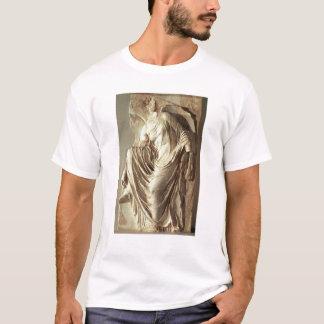 彼女のサンダル、c.420-420を紀元前に調節するアテーナーのナイキ tシャツ