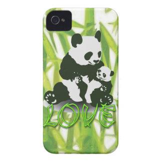 彼女のベビーのためのパンダくま愛 Case-Mate iPhone 4 ケース