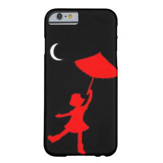 彼女の傘との女の子の踊り BARELY THERE iPhone 6 ケース