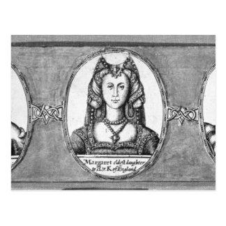 彼女の夫の2のマルグレットTudor ポストカード