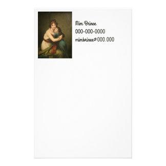 彼女の娘1780-1819年を持つElisabeth 便箋