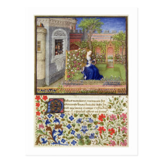 彼女の庭のエミリア、「La Tからのプレート22氏2617、 ポストカード