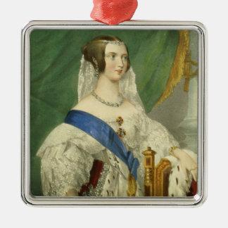 彼女の最も優雅な皇族、ビクトリア(1819-19年女王 メタルオーナメント