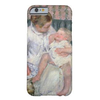 彼女の眠い子供1880年を洗浄する約母(油o barely there iPhone 6 ケース