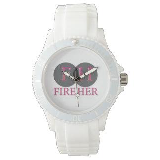 彼女の責任能力の腕時計を始動させて下さい 腕時計