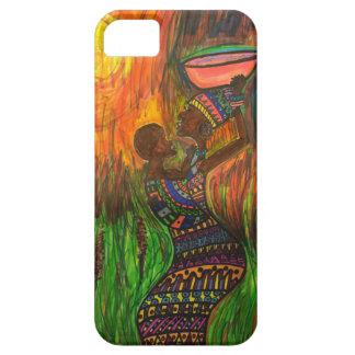 彼女の赤ん坊を持つアフリカのお母さん iPhone SE/5/5s ケース