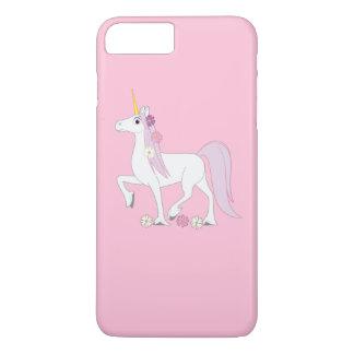 彼女の鬣のデイジーのユニコーン iPhone 8 PLUS/7 PLUSケース