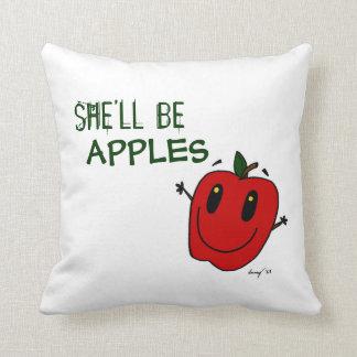 彼女はりんごの枕です クッション