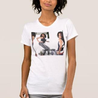彼女彼女Koutureのティー Tシャツ