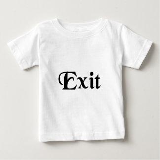 彼/彼女は出かけます。 ベビーTシャツ