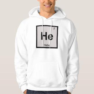 彼- Hebeの女神化学周期表の記号 パーカ