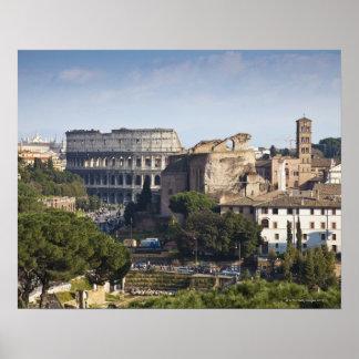 彼Colosseumかローマのコロシアム、最初に ポスター