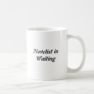 待っているコーヒー・マグの小説家 コーヒーマグカップ