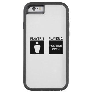 待っているプレーヤー2のiPhone 6/6sのゲーマーの例 Tough Xtreme iPhone 6 ケース