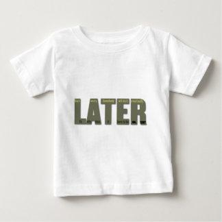 後で: procrastinatorの悲しみ ベビーTシャツ